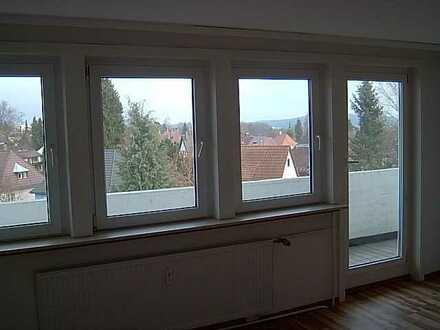 Penthouse-Wohnung mit Weitsicht im 4.OG ,zwei Zimmern sowie Balkon und EBK in Schwarzwald-Baar-Kreis