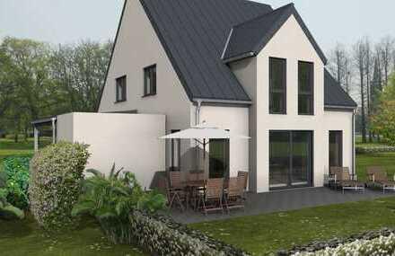 Idyllisch gelegen - Exklusive Doppelhaushälfte für die große Familie in Feldrandlage