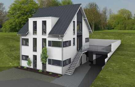Neubau Doppelhaushälfte mit Einliegerwohnung - Schöne sonnige Hanglage