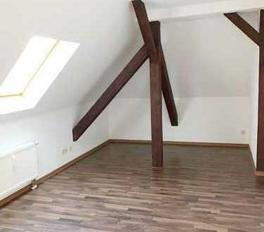 Schöne 3 Raum Wohnung in Borna bei Leipzig im 1. OG.Dachgeschoss mit großer Dachterrasse ab 01.07.