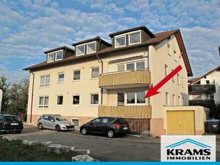 Großzügige 2-Zimmer-Wohnung im Hochparterre mit Balkon in Kirchentellinsfurt
