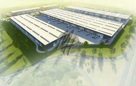 PROVISIONSFREI! NEUBAU! Lager-/Logistik (20.000 qm) & Büro (1.000 qm) zu vermieten