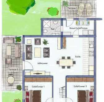!!! RESERVIERT !!! Töwerhuus Manslagt Ferienhaus auf Erbpacht Grundstück