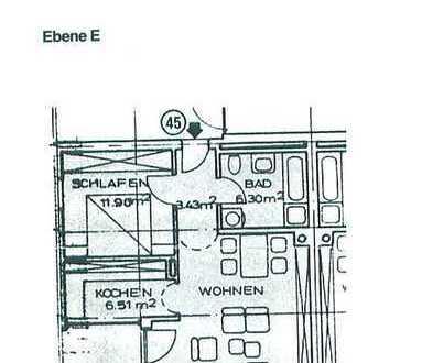 Zwei -Zimmer Wohnung in Neusäß/Schmutterpark, Gigantische Aussicht