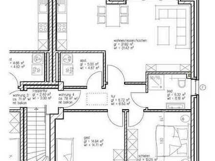 Geräumige Neubau-Eigentumswohnungen in Pewsum - Bevorzugte & ruhige Wohnlage