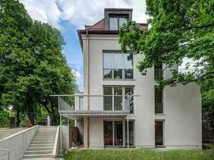 NEUBAU Erstbezug 5-Zi. Haus im Haus mit idyllischem Garten in bester Lage am Schlosskanal