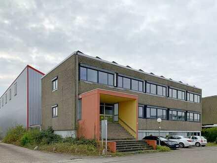 Lagergebäude mit Bürotrakt an der A5