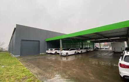 Repräsentative Hallen- und Bürofläche 1.550 m2 zzgl. Freifläche in zentraler Lage von Heide
