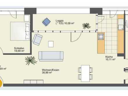 Nachmieter für 3 Zimmer (119m² ) Loftwohnung mit Westausrichtung ab 1.8. oder früher gesucht