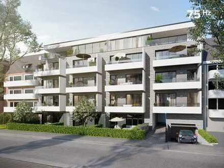 75Hz | Lichtdurchflutete 4-Zimmer-Neubauwohnung mit Balkon