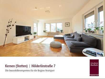 Kernen im Remstal: Attraktives, renoviertes Mehrfamilienhaus in toller Wohnlage (2-3 WE), Garage +++