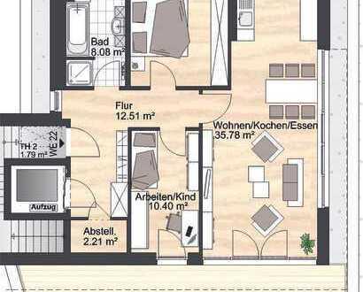 Wohnen in exklusiver Lage auf dem Kaßberg (WE 22)