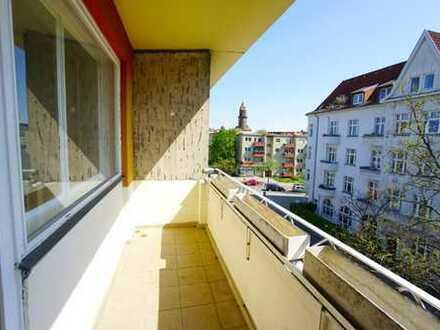 Modernes, ruhiges Single-Apartment mit Balkon, Nähe Schloßstr.!