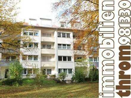 Refugium - Erstbezug / Dachgeschosswohnung in Grünlage
