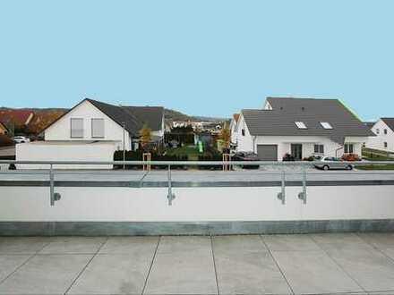 3-Zi.-Penth.-Wohn. Schwäb. Hall-Mittelhöhe, 92m²+ ELW 38m²,TLB,EBK,Dachterrasse,Garage + Stellpl.