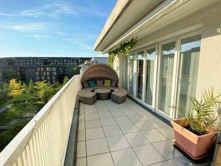 Traumhafte 3 Zimmer Dachgeschosswohnung mit großer Dachterrasse in Großhadern
