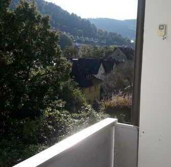 Ruhige, helle, renovierte 3-Zimmer-Wohnung mit Balkon und Einbauküche in Schramberg