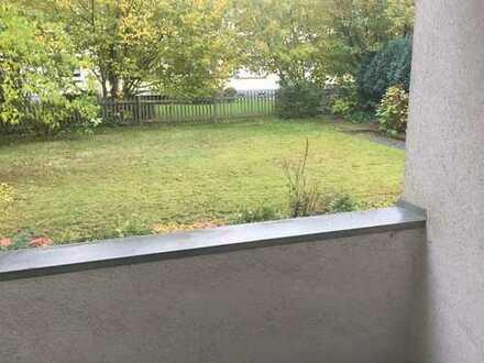 Schöne EG-Wohnung mit Gartennutzung und Balkon in verkehrsgünstiger Wohnlage