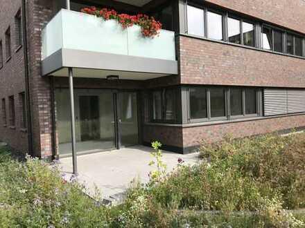 Optimal geschnittene und hochwertige Erdgeschoss-Eigentumswohnung mit großer Terrasse