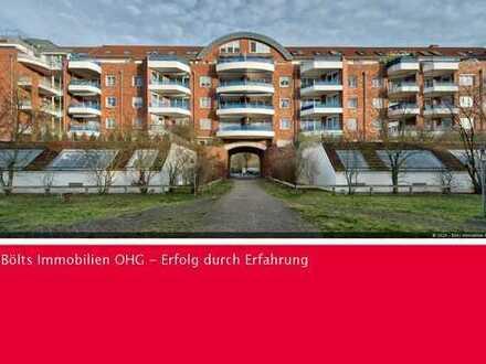 Top gepflegte Wohnung mit Tiefgaragenstellplatz in Sonnenlage im Weidedamm III
