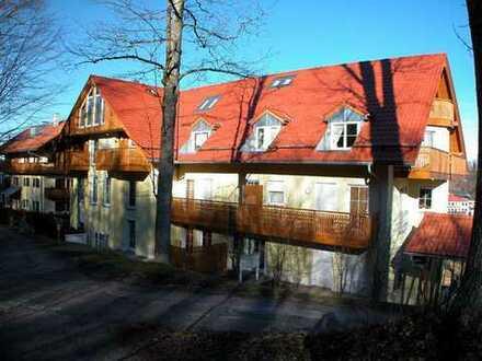 Interessant gestaltete Maisonette Wohnung am Rande des Kurparks
