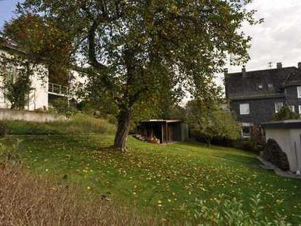 Sonniges Baugrundstück in Bestlage von Siegen OT Geisweid, zentr. Tallage, 5 Gehminuten z. City