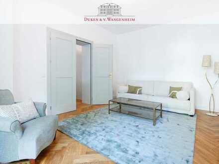 Exklusiv möblierte 2-Zimmer Wohnung. Inkl. Terrasse im Herzen Bogenhausens.