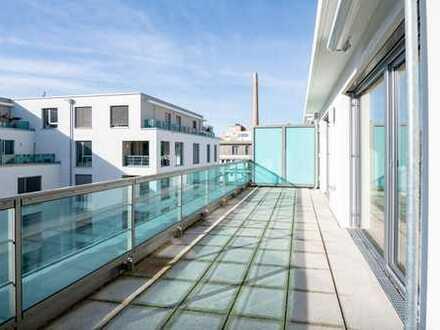 Neuwertige Luxus-3-Zimmer-Dachterassen-Wohnung in ruhiger Lage Sendling