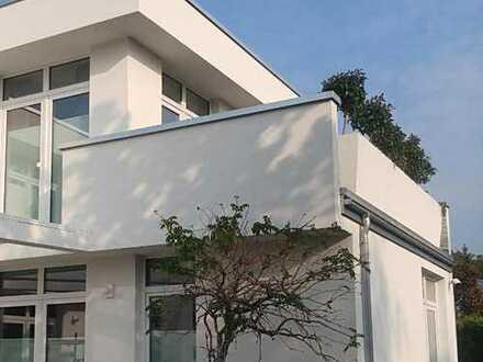 PROVISIONSFREI vom Bauträger! Helle Etagenwohnung im Doppelhausstil in idyllischer Grünlage!