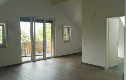 Schöne 1-Zimmer-DG-Wohnung mit Balkon in Irsee