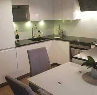 Modernisierte 2-Raum-Wohnung mit Balkon und Einbauküche in Leutkirch im Allgäu