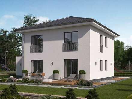 Auch von außen eine echte Größe: Ihre Stadtvilla in Langenselbold!