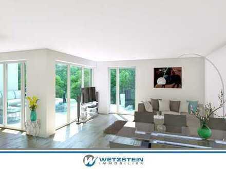 Penthouse mit riesiger Sonnenterrasse in guter Lage von Bruchköbel