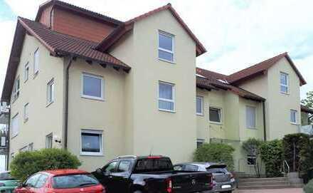 Sehr gepflegte 2-Zimmer-Wohnung mit Balkon in toller Feldrandlage von Gaiberg