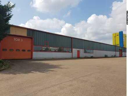 Produktions-/ Lagerhalle im Industriegebiet mit 5.700 qm zu verkaufen