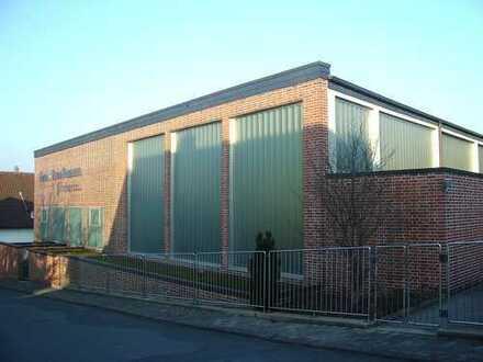 Teilvermietete Gewerbehalle mit Freifläche (auch als Kapitalanlage geeignet)