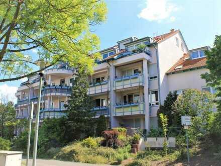 Vermietete 2-Raum-Wohnung (Hochparterre) mit Terrasse und TG-Stellplatz in Leipzig-West