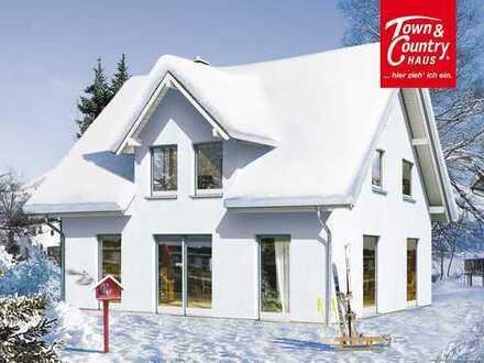 Traumhafte Lage mit Blick auf den Fichtelberg für Ihr Traumhaus :-)))