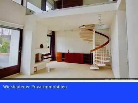 Rarität in bester Lage - Maisonette-Wohnung mit Traumblick über Wiesbaden