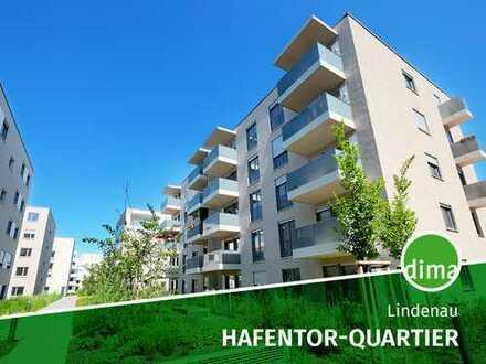 AKTION* | NEUBAU | HAFENTOR-QUARTIER + TG + Fußbodenheizung + 2 Balkone + 2 Bäder + barrierefrei
