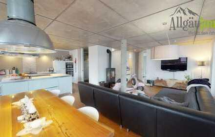 Fantastische, helle Wohnung mit großem Balkon in bester Lage in Memmingen