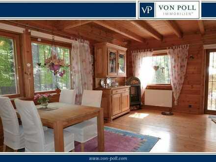 Charmantes Holzblockhaus in bester Lage von Homburg - Vorstadt