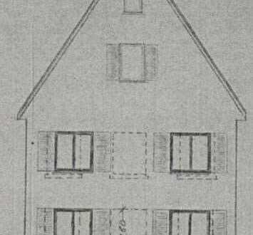 Zwei-Familienhaus in Plieningen, Stuttgart mit Großer Scheune