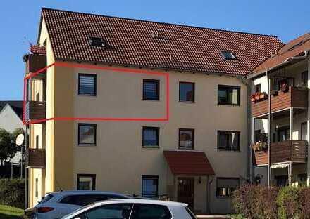 3-Zimmer mit Balkon und PKW-Stellplatz in gefragter Wohnlage