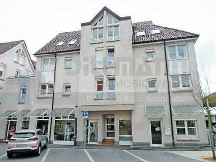 Wohnen im Stadtkern von Tailfingen - Schöne 2-Zimmer-Stadtwohnung mit zwei Balkonen und Garage
