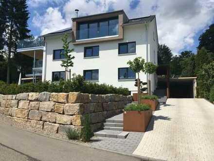 Exklusive 3,5-Zimmer-Wohnung mit EBK und Terrasse in Bad Saulgau