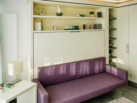 Attraktive 1-Zimmer-Wohnung mit Balkon und Einbauküche in Freilassing