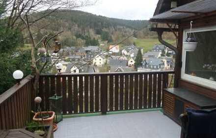*2-ZI.-Maisonettewohnung mit Aussicht in Steinach, 61 m², günstig!!!* Mit Terrasse und Partyraum!