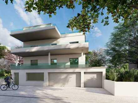 Erstbezug nach Sanierung: exklusive 4-Zimmer-Wohnung mit Panoramablick und Balkon in Weinheim