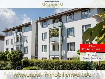 Helle Dachgeschosswohnung mit Loggia in ruhiger Wohnlage in Rahlstedt